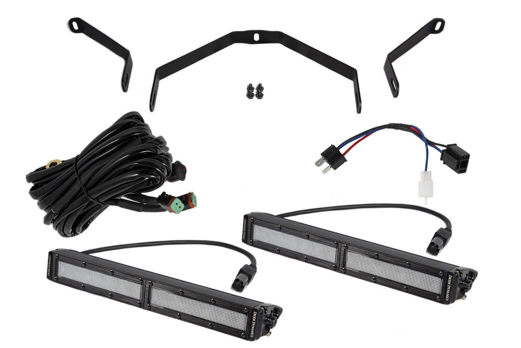 Tundra 12 Inch LED Driving Light Kit White Flood