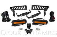 Jeep JL 2018-2019 Stage Series 6 Inch Cowl LED Kit Amber Flood