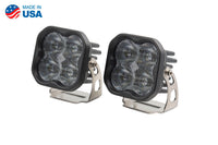 Worklight SS3 Pro White SAE Fog Standard Pair