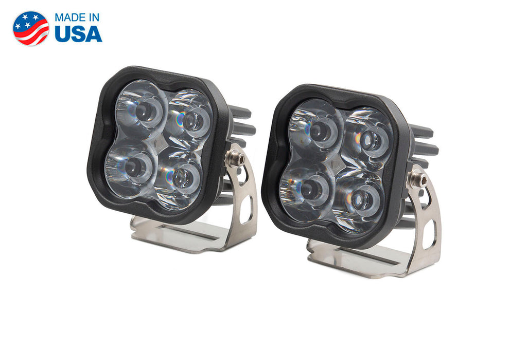 Worklight SS3 Pro White Spot Standard Pair