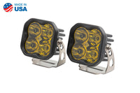 Worklight SS3 Pro Yellow Spot Standard Pair