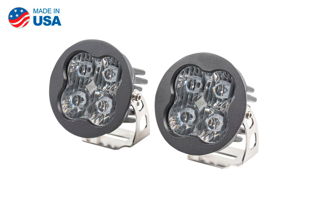 Worklight SS3 Pro White SAE Driving Round Pair