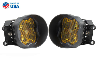 SS3 LED Fog Light Kit for 2016-2019 Toyota Tacoma Yellow SAE/DOT Fog Sport