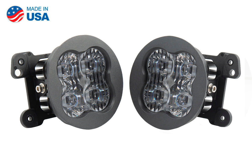 SS3 LED Fog Light Kit for 2011-2013 Jeep Grand Cherokee White SAE/DOT Driving Sport