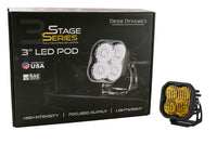 SS3 LED Pod Pro Yellow Combo Standard Single Diode Dynamics