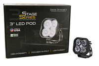 SS3 LED Pod Max White Flood Standard Sngle Diode Dynamics