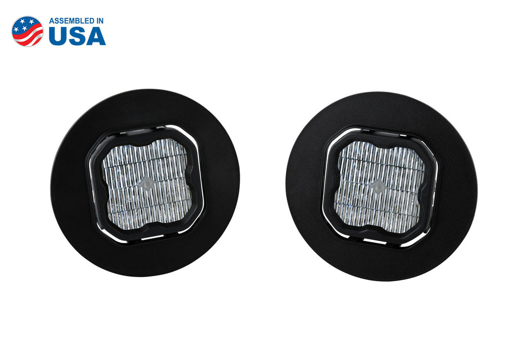 SS3 LED Fog Light Kit for 07-13 GMC Sierra 1500 White SAE/DOT Fog Sport Diode Dynamics