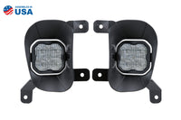SS3 LED Fog Light Kit for 13-18 Ram 1500 White SAE/DOT Fog Pro Diode Dynamics