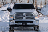 SS3 LED Fog Light Kit for 10-18 Ram 2500/3500 White SAE/DOT Driving Sport Diode Dynamics