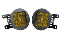 SS3 LED Fog Light Kit for 2006-2009 Ford Mustang Yellow SAE/DOT Fog Max Diode Dynamics