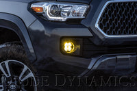 SS3 LED Fog Light Kit for 2016-2021 Toyota Tacoma, Yellow SAE/DOT Fog Max