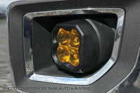 SS3 LED Fog Light Kit for 2015-2020 GMC Canyon White SAE/DOT Fog Max Diode Dynamics