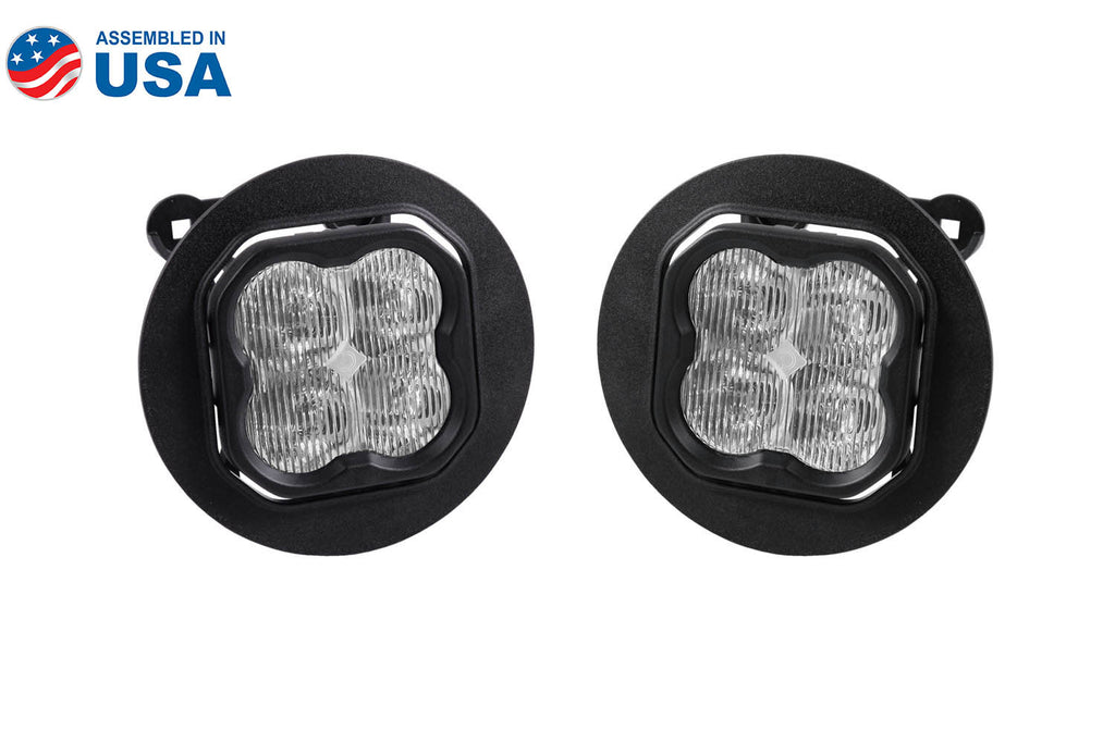 SS3 LED Fog Light Kit for 2005-2009 Subaru Outback White SAE/DOT Fog Max Diode Dynamics