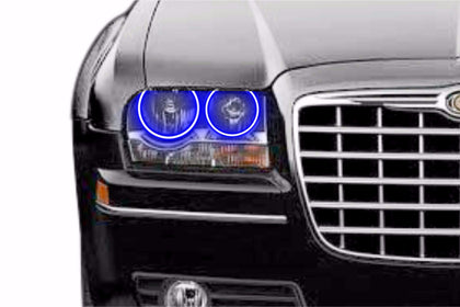 2005-2010 Chrysler 300-300C Profile Prism Fitted Halos (RGB)