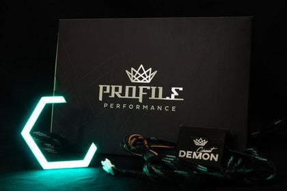 106mm Circuit Demon X Profile Prism Hex Halos