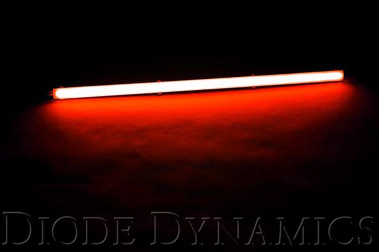 LED Strip Lights High Density SF Red 12 Inch