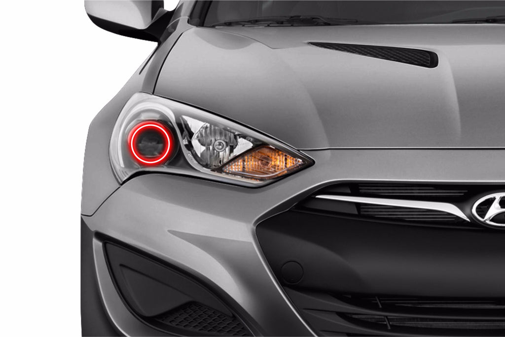 Hyundai Genesis Coupe (13-16): Profile Prism Fitted Halos (Kit)