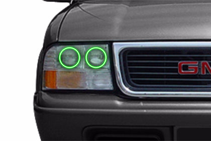 GMC Sonoma (98-04): Profile Prism Fitted Halos (Kit)