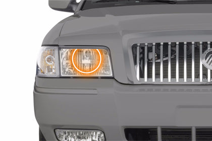 Mercury Grand Marquis (06-11): Profile Prism Fitted Halos (Kit)