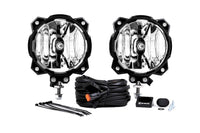 KC Hilites Pro6 Gravity LED Light: (Wide-40 / Pair)