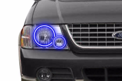 Ford Explorer (02-05): Profile Prism Fitted Halos (Kit)