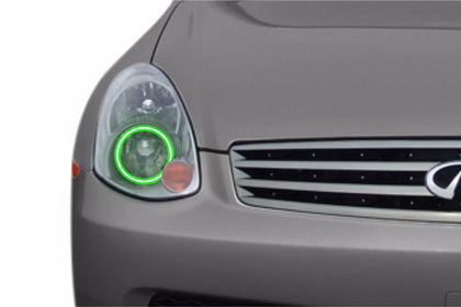 Infiniti G35 Sedan (03-04): Profile Prism Fitted Halos (Kit)