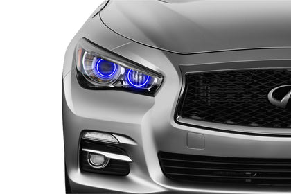 Infiniti Q50 (14-15): Profile Prism Fitted Halos (Kit)
