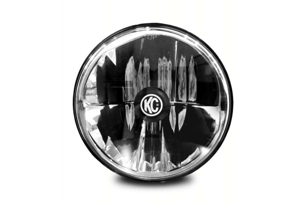 KC Hilites Gravity LED Pro Headlight: (7in for Jeep JK / 55/60w Driving / Each)
