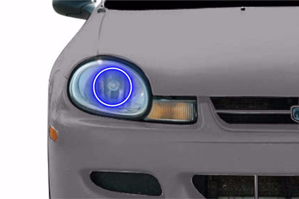 Dodge Neon (00-02): Profile Prism Fitted Halos (Kit)