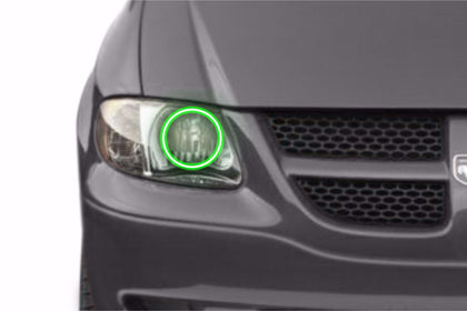 Dodge Caravan (01-07): Profile Prism Fitted Halos (Kit)