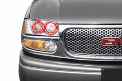 GMC Yukon Denali (01-06): Profile Prism Fitted Halos (Kit)