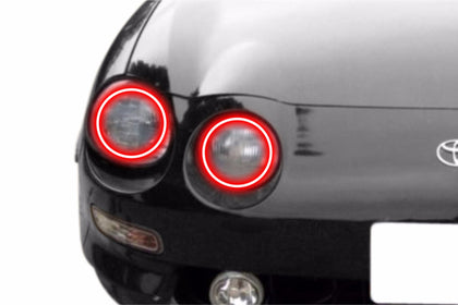 Toyota Celica (94-99): Profile Prism Fitted Halos (Kit)