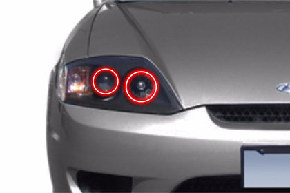 Hyundai Tiburon (03-06): Profile Prism Fitted Halos (Kit)