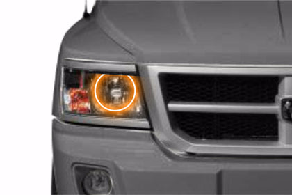 Dodge Dakota (08-11): Profile Prism Fitted Halos (Kit)