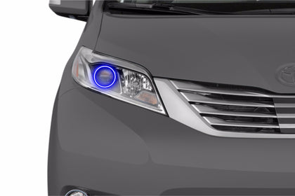 Toyota Sienna (15-16): Profile Prism Fitted Halos (Kit)