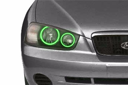 Hyundai Elantra (01-03): Profile Prism Fitted Halos (Kit)