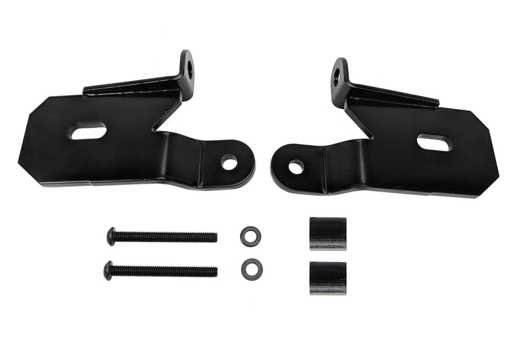 KC Hilites Light Mounts: (Windshield Pillar Mount / Wrangler JL / JT / Pair)