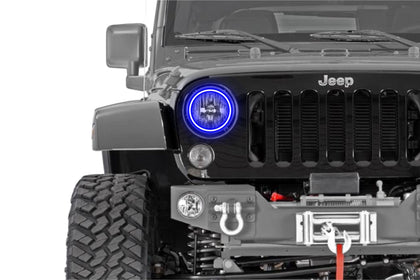 Jeep Wrangler (97-17): Profile Prism Fitted Halos (Kit)