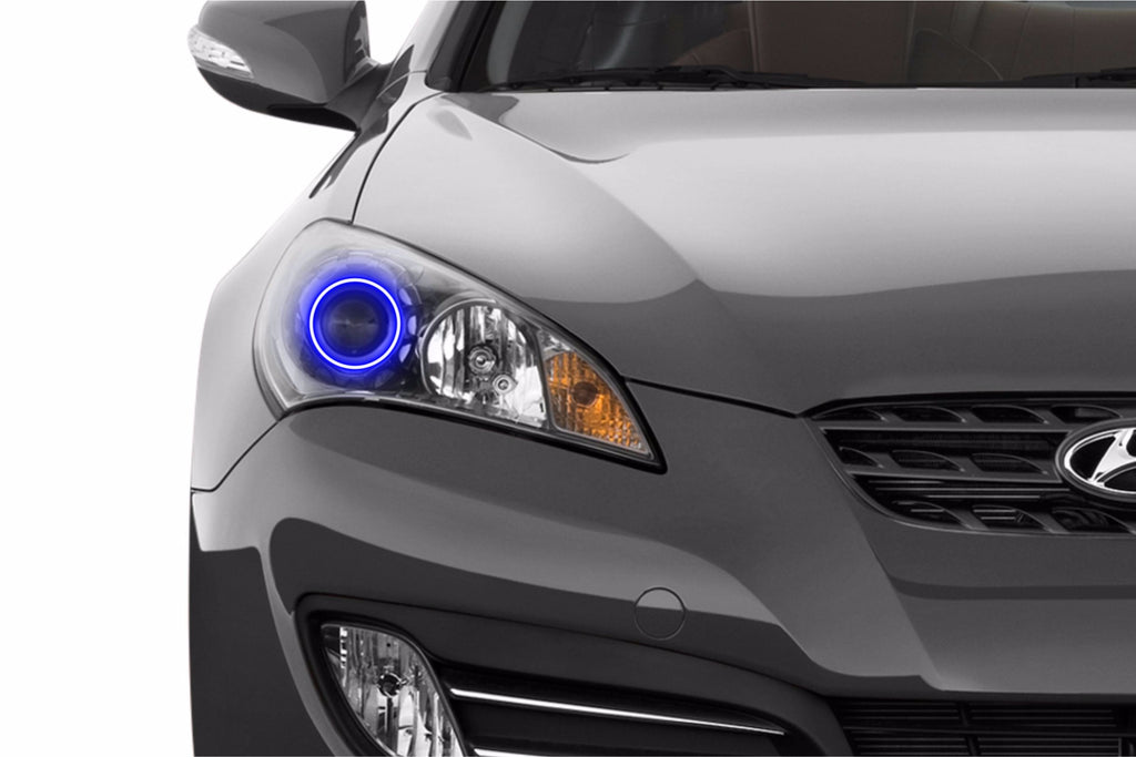 Hyundai Genesis Coupe (10-12): Profile Prism Fitted Halos (Kit)