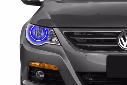 Volkswagen CC w/o Projector (09-11): Profile Prism Fitted Halos (Kit)