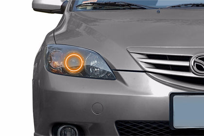 Mazda Mazda3 (04-09): Profile Prism Fitted Halos (Kit)