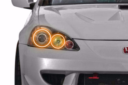 Acura RSX (05-06): Profile Prism Fitted Halos (Kit)