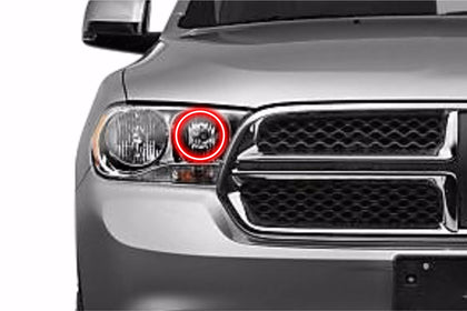 Dodge Durango (11-13): Profile Prism Fitted Halos (Kit)