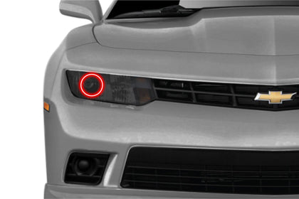 Chevrolet Camaro w/o OEM HID (14-15): Profile Prism Fitted Halos (Kit)