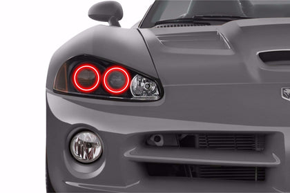 Dodge Viper (03-10): Profile Prism Fitted Halos (Kit)