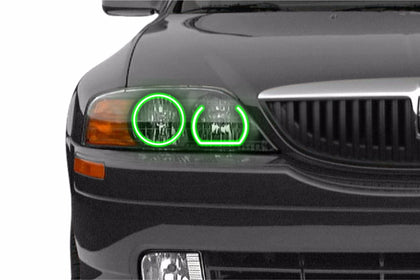 Lincoln LS (00-02): Profile Prism Fitted Halos (Kit)