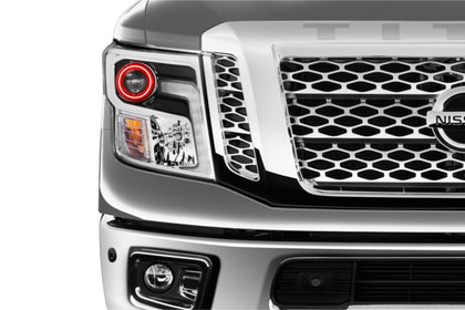 Nissan Titan (16-17): Profile Prism Fitted Halos (Kit)