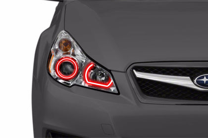 Subaru Legacy (10-12): Profile Prism Fitted Halos (Kit)