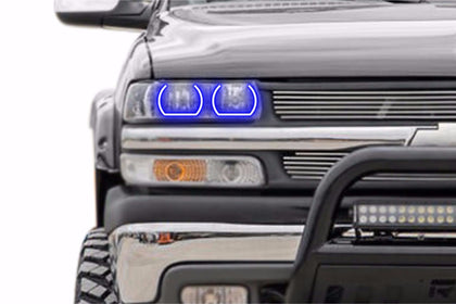Chevrolet Silverado (99-02): Profile Prism Fitted Halos (Kit)