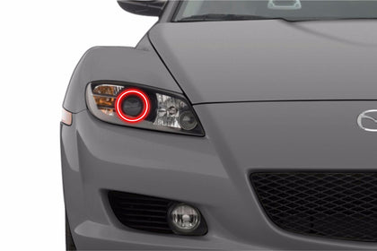 Mazda RX8 (04-08): Profile Prism Fitted Halos (Kit)